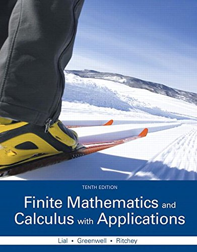 9780133981070: Finite Mathematics and Calculus with Applications Plus MyMathLab with Pearson eText -- Access Card Package (10th Edition) (Lial, Greenwell & Ritchey, The Applied Calculus & Finite Math Series)
