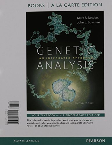 9780133982121: Genetic Analysis: An Integrated Approach, Books a la Carte Plus Mastering Genetics with eText - Access Card Package (2nd Edition)