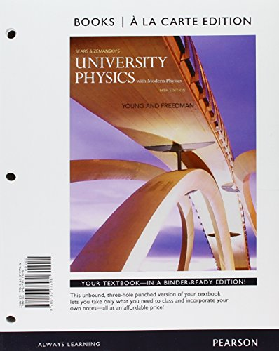 9780133983623: University Physics with Modern Physics, Books a la Carte Plus Masteringphysics with Etext -- Access Card Package