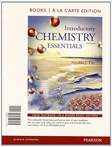9780133984644: Introductory Chemistry Essentials, Books a la Carte Edition (5th Edition)