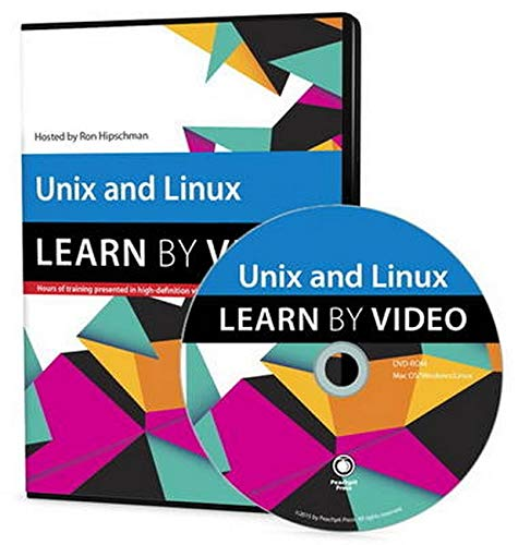 9780133987058: Unix and Linux: Learn by Video