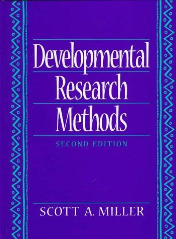 9780133988925: Developmental Research Methods (2nd Edition)