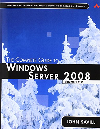 9780133991628: The Complete Guide to Windows Server 2008 (Addison-Wesley Microsoft Technology)