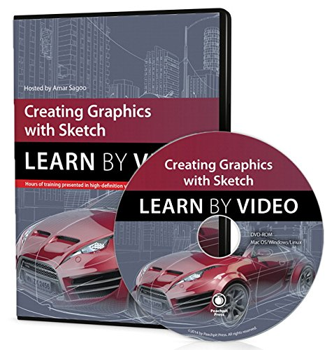 9780133992939: Creating Graphics with Sketch: Learn by Video