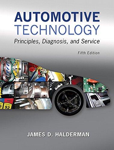 9780133994612: Automotive Technology: Principles, Diagnosis, and Service