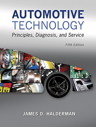 9780133994612: Automotive Technology: Principles, Diagnosis, and Service (5th Edition)