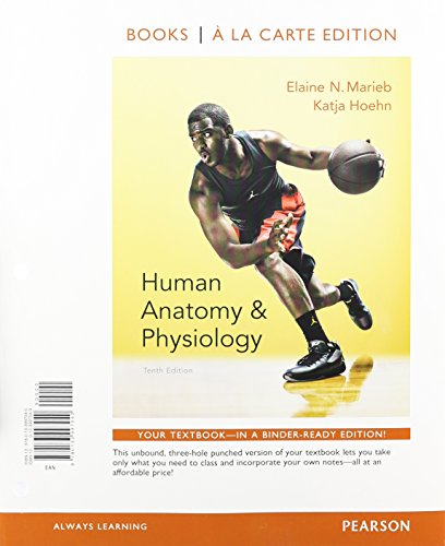 9780133994933: Human Anatomy & Physiology, Books a la Carte Plus Mastering A&P with eText - Access Card Package (10th Edition)