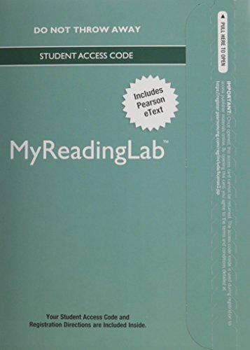 9780133995015: MyLab Reading with Pearson eText -- Standalone Access Card