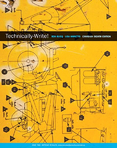 9780133995213: Technically-Write, Eighth Canadian Edition Plus MyWritingLab -- Access Card Package (8th Edition)