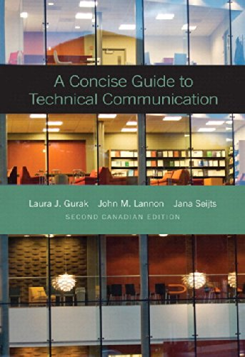 9780133995220: A Concise Guide to Technical Communication, Second Canadian Edition Plus MyWritingLab -- Access Card Package (2nd Edition)