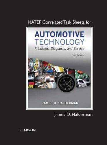 9780133995671: Natef Correlated Task Sheets for Automotive Technology