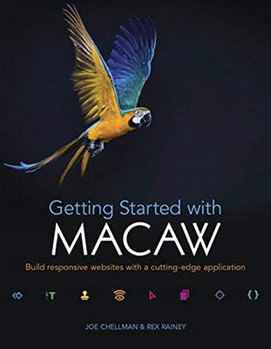 9780133995831: Getting Started with Macaw: Build responsive websites with a cutting-edge application