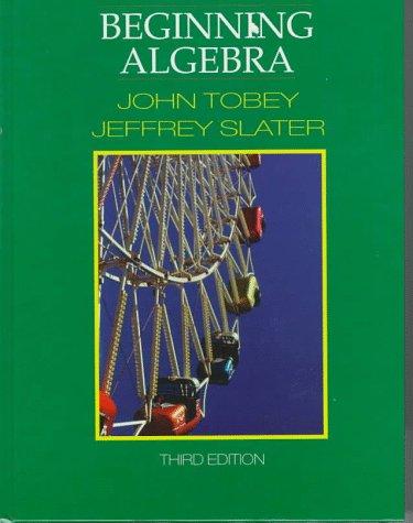 9780133995930: Beginning Algebra