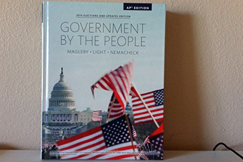 9780133996128: Government By the People - AP Edition (2014 Elections and Updates Edition)