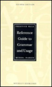 9780133998177: Prentice Hall Reference Guide to Grammar and Usage, without exercises