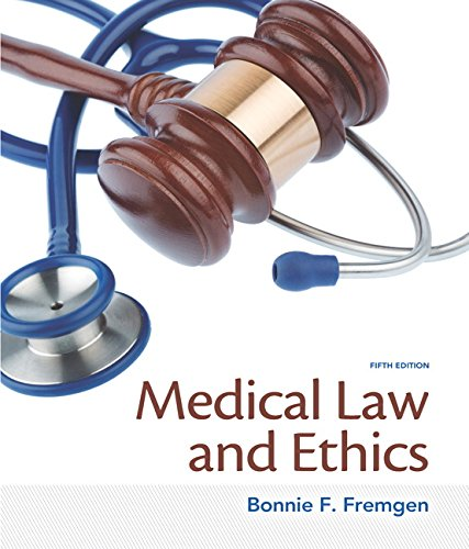 9780133998986: Medical Law and Ethics