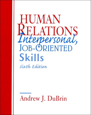 9780134000114: Human Relations: Interpersonal, Job Oriented-Skills
