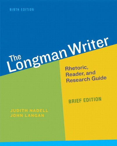 9780134001555: Longman Writer, The, Brief Edition Plus MyLab Writing -- Access Card Package (9th Edition)