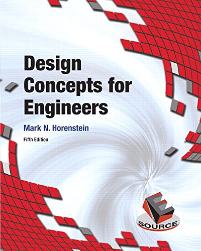 9780134001876: Design Concepts for Engineers (5th Edition)