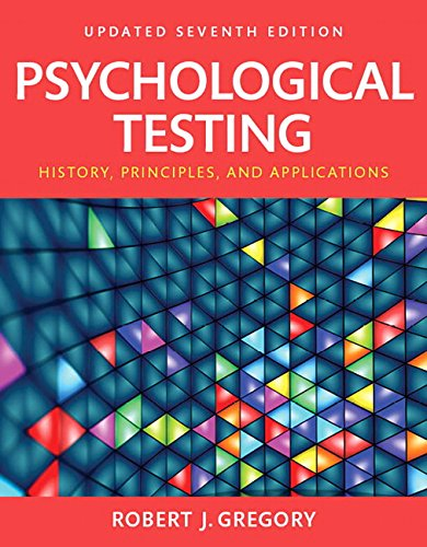 9780134002989: Psychological Testing: History, Principles and Applications, Books a la Carte (7th Edition)