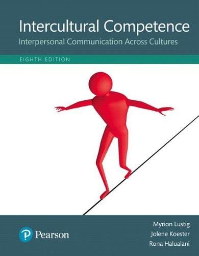 Intercultural Competence: Interpersonal Communication Across Cultures, Books a la Carte Edition (...