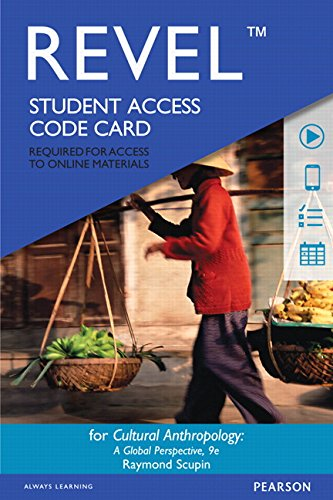 9780134007175: Revel for Cultural Anthropology: A Global Perspective -- Access Card (9th Edition)