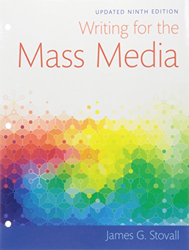 9780134010625: Writing for the Mass Media, Books a la Carte (9th Edition)