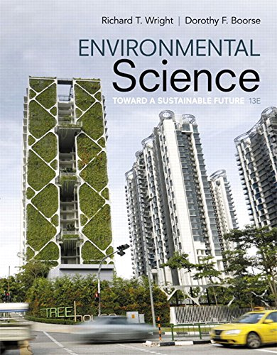 9780134011271: Environmental Science: Toward A Sustainable Future (13th Edition)