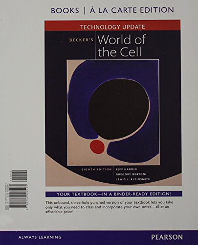 9780134013305: Becker's World of the Cell Technology Update, Books a la Carte Plus MasteringBiology with eText -- Access Card Package (8th Edition)