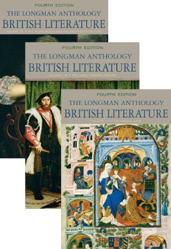 9780134015705: Longman Anthology of British Literature, The, Volumes 1A, 1B, and 1C, Plus MyLab Literature - Access Card Package (4th Edition)