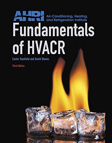 9780134016160: Fundamentals of HVACR (3rd Edition)