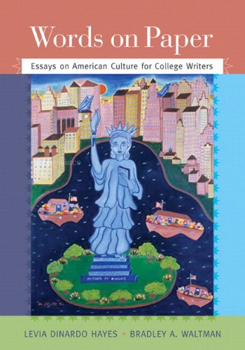 9780134016610: Words on Paper: Essays on American Culture for College Writers Plus MyWritingLab -- Access Card Package