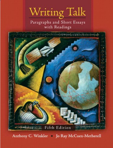 9780134016658: Writing Talk: Paragraphs and Short Essays with Readings Plus MyWritingLab -- Access Card Package (5th Edition)