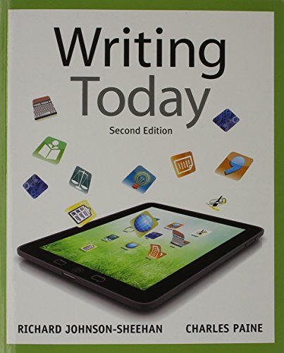 9780134017211: Writing Today with MyWritingLab with eText -- Access Card Package (2nd Edition)