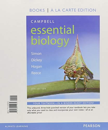 9780134018546: Campbell Essential Biology, Books a la Carte Plus Mastering Biology with eText -- Access Card Package (6th Edition)