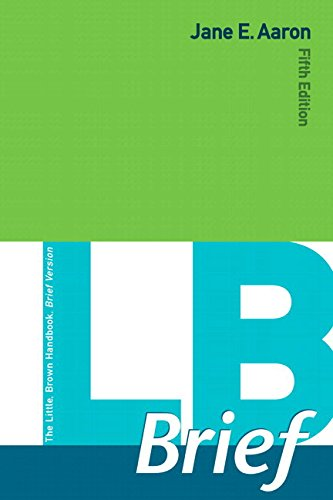 9780134018621: LB Brief with Tabs Plus Mywritinglab with Pearson Etext -- Access Card Package
