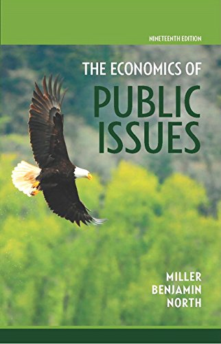 9780134018973: Economics of Public Issues (19th Edition)