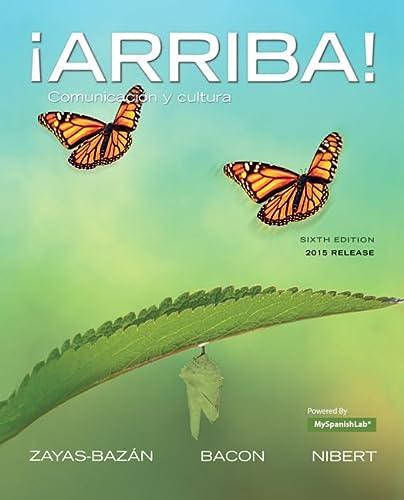 9780134020655: Arriba!: Comunicacion y Cultura, 2015 Release