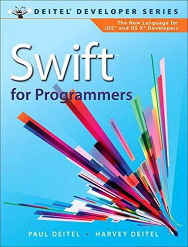 9780134021362: Swift for Programmers (Deitel Developer)