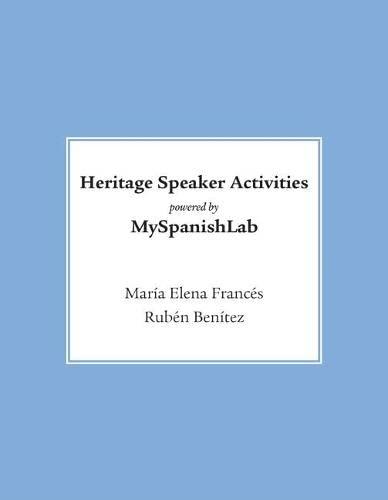Heritage Speaker Activities -- Access Card --: Frances, Maria Elena;