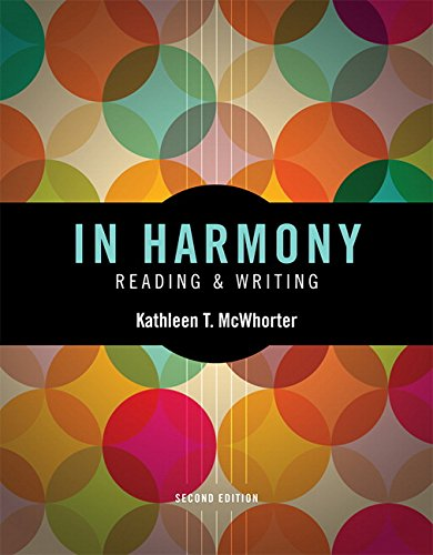 9780134023861: In Harmony: Reading and Writing Plus MySkillsLab with Pearson eText -- Access Card Package (2nd Edition) (McWhorter, The Reading & Writing Series, 2nd Edition)