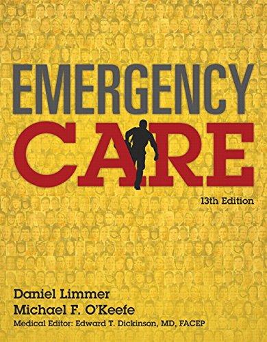 9780134024554  Emergency Care  13th Edition   Emt