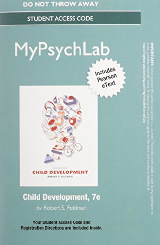 9780134026466: NEW MyLab Psychology with Pearson eText - Standalone Access Card - for Child Development (7th Edition) (MyPsychLab)