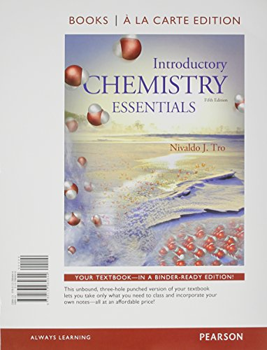 9780134026886: Introductory Chemistry Essentials, Books a la Carte Plus MasteringChemistry with eText -- Access Card Package (5th Edition)