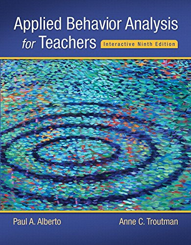 9780134027098: Applied Behavior Analysis for Teachers (What's New in Special Education)