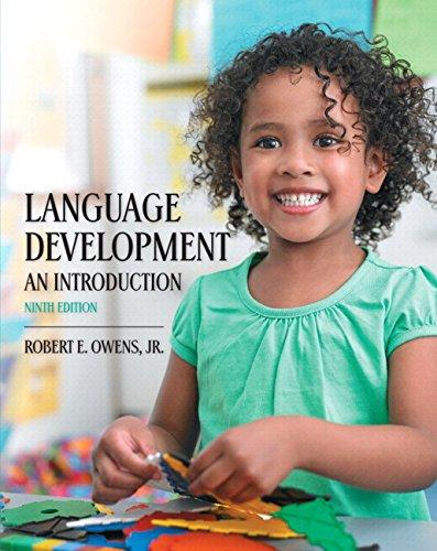 9780134030463: Language Development: An Introduction, Enhanced Pearson eText -- Access Card (9th Edition)