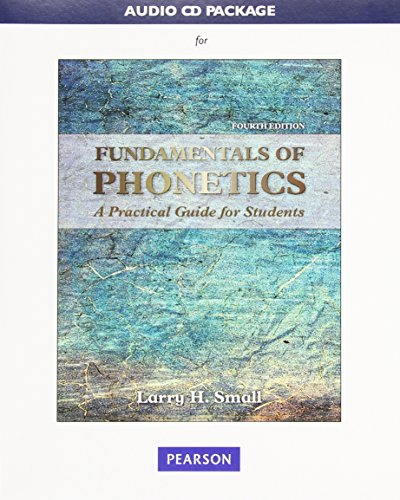 9780134033068: Audio CD Package for Fundamentals of Phonetics: A Practical Guide for Students