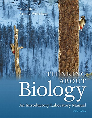 9780134033167: Thinking About Biology: An Introductory Laboratory Manual (5th Edition)