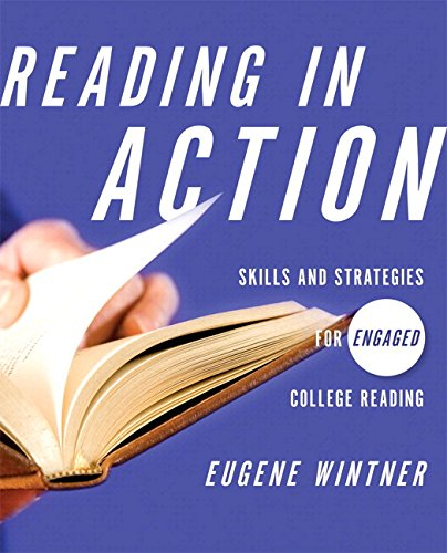 9780134036007: Reading in Action with Access Code: Skills and Strategies for Engaged College Reading