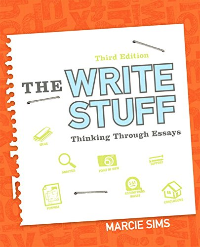 9780134036731: The Write Stuff: Thinking Through Essays Plus MyLab Writing with Pearson eText -- Access Card Package (3rd Edition)